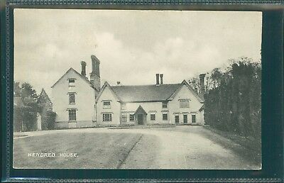 Hendred House, Oxfordshire, Printed, 1907