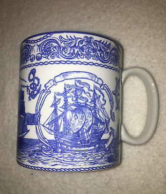 The SPODE Blue Room Collection 'MARITIME' Mug