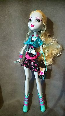 """MONSTER HIGH. Muñeca LAGOONA BLUE serie """"Ghoul´s Night Out"""""""