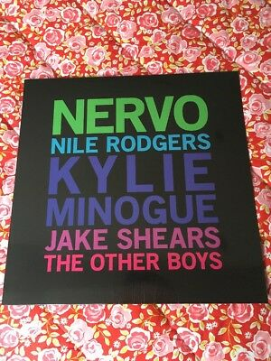 """Limited Edition- Kylie Minogue / Nervo Jake Shears /Nile Rodgers 12"""" Clear Vinyl"""