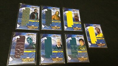 Lot of 7 Guardians of the Galaxy Cosmic Strings Oversize costume card