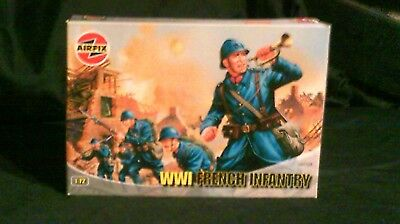 1/72 Scale Airfix WWI French Infantry 48 Figures
