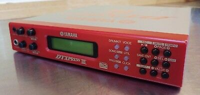 Yamaha DTXPRESS III Professional Electronic Drum Kit Module Brain