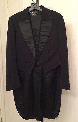 vintage 1940's mens tail coat