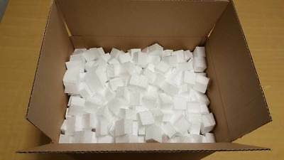 Polystyrene Packaging Chips With Cardboard Box