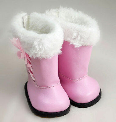 New Pink Boots Wearfor 43cm Baby Born zapf (only sell shoes)