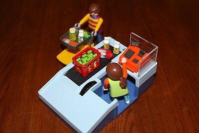 Playmobil Supermarket Check Out stand #3201