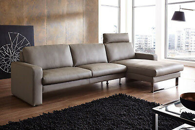 neue echt leder sofa von natuzzi in farbe taupe 2 sitzer b 1 70 h 0 95 eur 450 00 picclick de. Black Bedroom Furniture Sets. Home Design Ideas