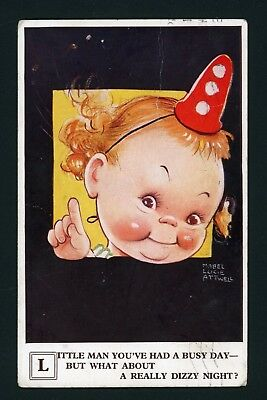 Mable Lucie Atwell Postcard.