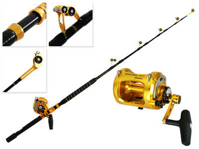 Okuma Makaira Gold 50WII and Game Alps 2-Speed Roller Tip Combo 5ft 8in 24kg 1pc
