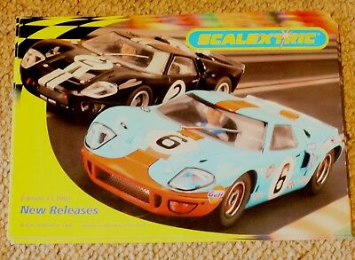 Scalextric 2002  Edition 43 new releases in Good Condition
