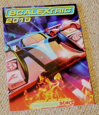 Scalextric 2010 catalogfue in v Good Condition