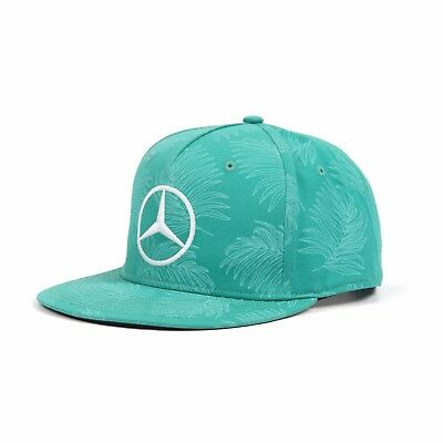2017 OFFICIAL F1 Mercedes AMG Lewis Hamilton MALAYSIA Malaysian GP Cap - NEW