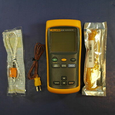 Fluke 51 II Thermometer, Very Good Condition, Screen Protector