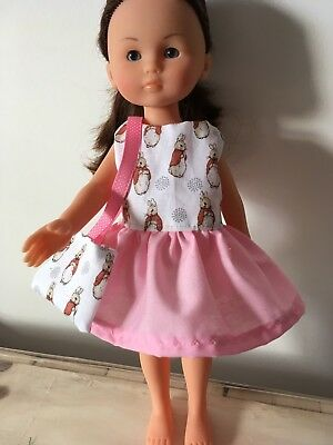 """DOLLS CLOTHES. Handmade COROLLE  Party Dress and Bag 34cm/14"""" tall"""