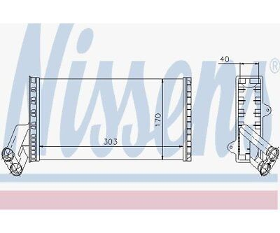 Nissens 71149 Heat Exchanger, Interior Heating