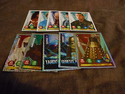 10 Panini Doctor Who Alien Armies Trading Cards