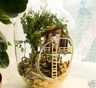 DIY Handcraft Miniature Project Kit Wooden Dolls House The Summer Treehouse