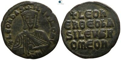 Savoca Coins Leo VI The Vise Follis Constantinople 6,02 g / 24 mm /BBA15647