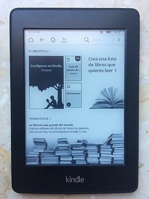 Kindle Paperwhite 2 Perfectisimo Estado Con Wifi Luz Integrada Ebook Ereader