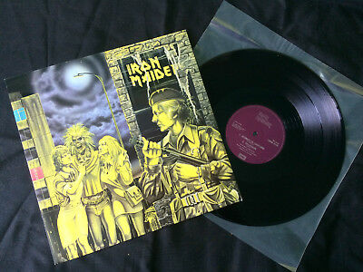 """Iron Maiden - Wasted Years 12"""" UK 1980 EX/NM"""