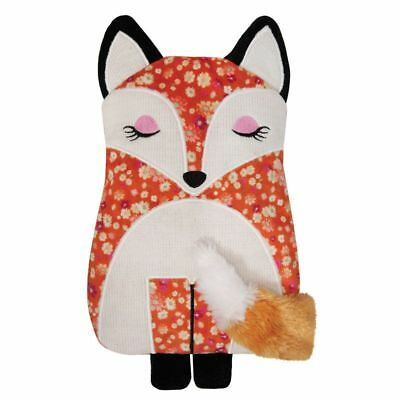 Aroma Home Floral Fox Knitted Lavender Scented Microwaveable Body Warmer