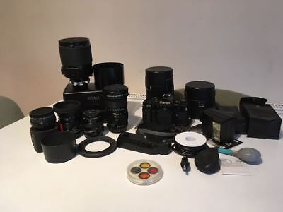 Canon A1 Camera and Lots of Accessories