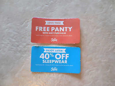 Panty liner coupons 2018