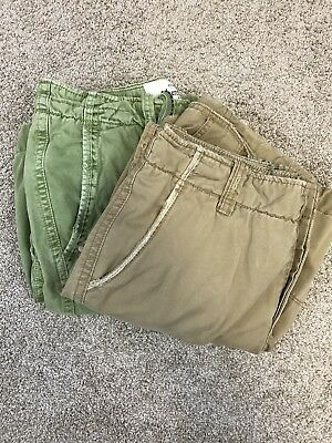 Lot Of 2 Mens Abercrombie And Fitch Shorts Sz 32 A004