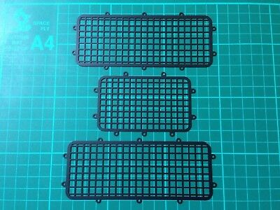 1/10 Rc TRAXXAS TRX - 4 TRX4 Black Metal Window Mesh Guards
