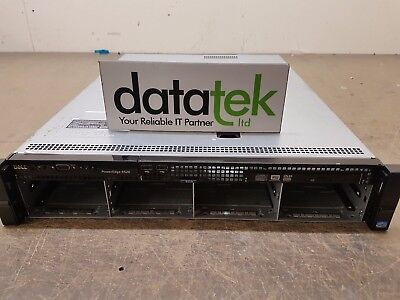 DELL POWEREDGE R520 2U RACK SERVER 2x E5-2430, 8GB, PERC H710/512MB, DVD,