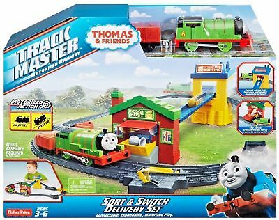 Thomas And Friends Track Master Motorized Railway Sort & Switch Delivery Set New
