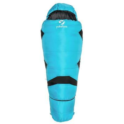 Childrens Sleeping Bag 1.20M To 1.50M Expandable Light Weight Pack Bag Blue