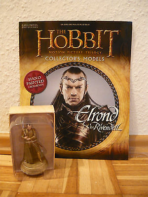 Hobbit Collectors Models:Elrond at Rivendell (Nr.18) ~ Eaglemoss Sammelfigur