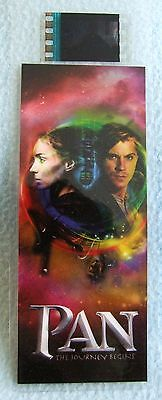 PAN The Journey Begins - Authentic Movie FILM CELL Bookmark - NEW