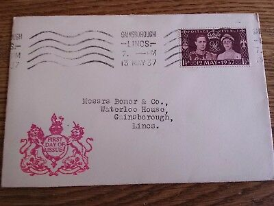 GB 1937 George VI Coronation Illustrated First Day Cover