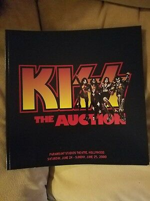 KISS The Auction Book Autographed