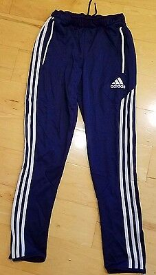 Youth Adidas Climacool Blue white Skinny pants Tapered Micoach Boys L girls
