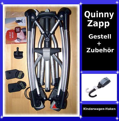 quinny zapp buggy gestell mit maxi cosi cabriofix maxi taxi adapter eur 125 00. Black Bedroom Furniture Sets. Home Design Ideas