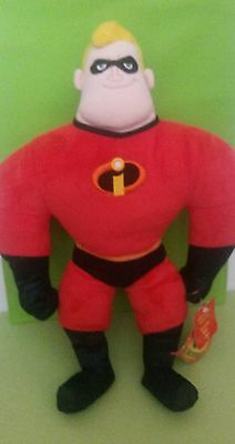 Disney Store Incredibles Mr Incredible Talking Soft Toy