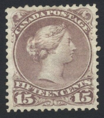 Canada Large Queen 15c SG 61 £850 Mint Hinged