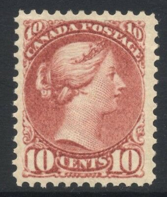 Canada Small Queen 10c SG 111 £250  ( 45) Mint LH