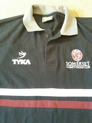 Somerset County Cricket Club Polo Shirt - Size Large