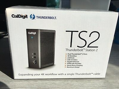 CALDIGIT THUNDERBOLT STATION 2 - docking station per APPLE