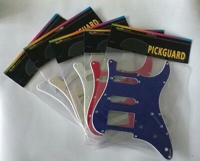 Pickguard SSH, 3 pot holes, 3-5 switch, 11 screw Holes Fender,Strat,Stratocastor