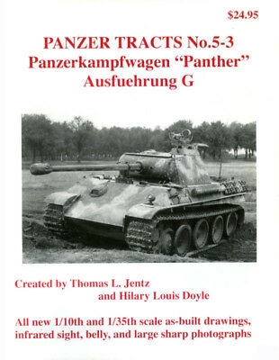 Panzer Tracts No.5-3 – Panther Ausf.G