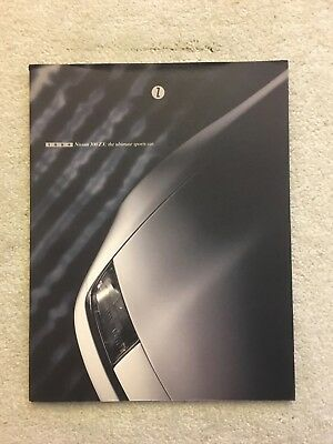 1994 Nissan 300 ZX Original Factory Sales Brochure - 34 pages