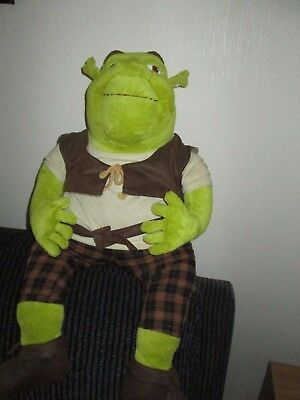 Shrek Large Plush Soft Toy Made By Gosh 2004