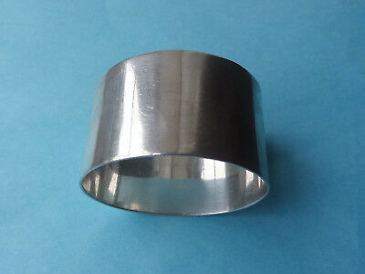 Antique PLAIN STERLING SILVER NAPKIN RING - Sheffield 1906 No inscription