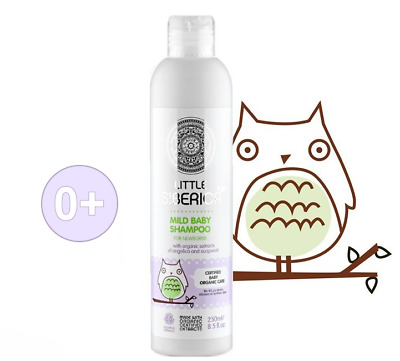 LITTLE SIBERICA ORGANIC MILD SHAMPOO FOR NEWBORNS for children 0+ NATURAL